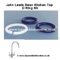 john lewis swan kitchen tap o ring kit 1239R
