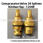 Compression Valve 24 Splines 1254R
