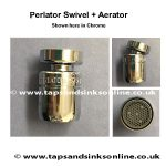 Perlator Swivel Aerator Chrome