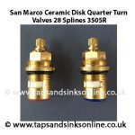 San Marco Ceramic Disc 3505R Valves Pair