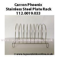 carron phoenix plate rack 112.0019