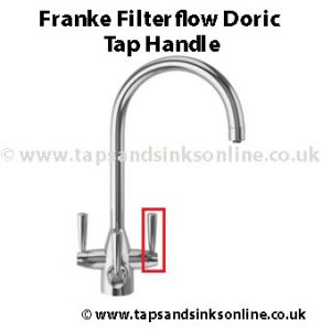 franke filterflow doric tap handle