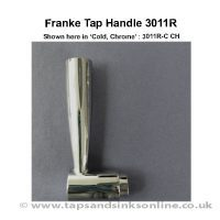 Franke Tap Handle 3011R  Cold Handle Chrome