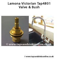 lamona victoria tap4801 valve with bush