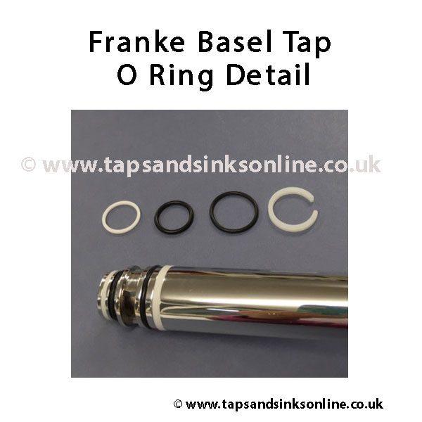 Franke Basel Tap Spout Detail