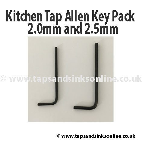 Kitchen Tap Allen Key Pack