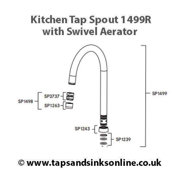 SP1499 spout