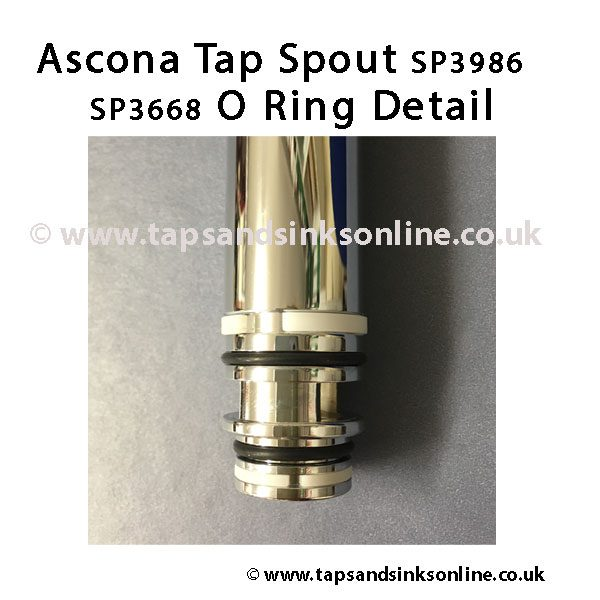 Ascona Tap Spout SP3986 and O Ring Kit SP3668