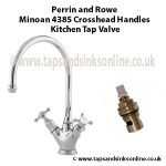 Minoan 4385 Cross Head Handles Tap Valve