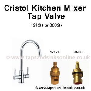 Cristol Kitchen Mixer Tap valve