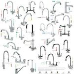 Various Kitchen Tap Brands