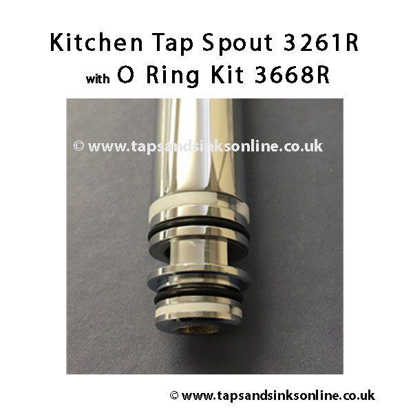 Kitchen Tap Spout 3261R O Ring 3668R