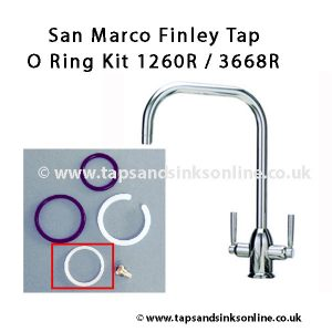 San Marco Finley Kitchen Tap O Ring Kit