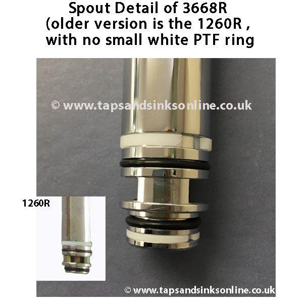 Spout Detail 3668R including 1260R Detail