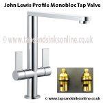 john lewis profile tap valve