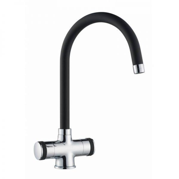 lamona black and chrome tap3630