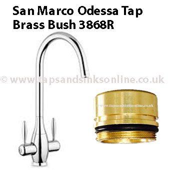 odessa tap brass bush 3868R
