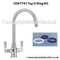 CDA TT41 Tap O Ring Kit 1239R