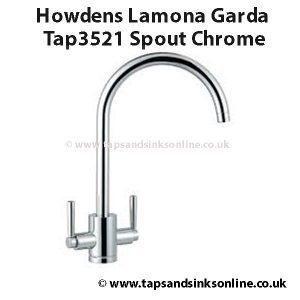 Howdens Lamona Garda Tap3521 Spout Chrome