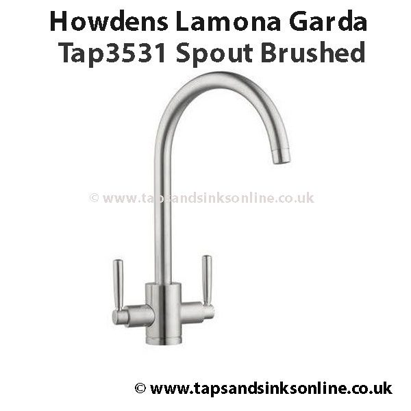 Howdens Lamona Garda Tap3531 Spout Brushed