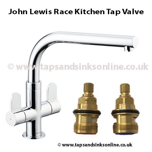 John Lewis Race Kitchen Tap Valve