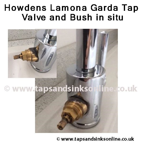 Lamona Garda Tap Valve and Bush example