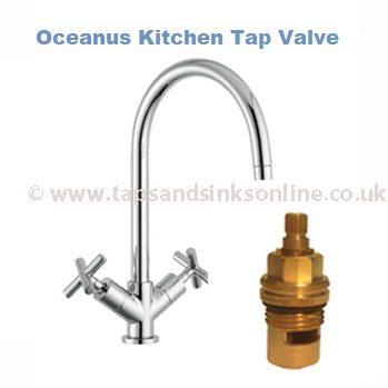 Oceanus Kitchen Tap Valve