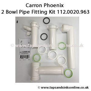112.0020.963 2 Bowl Pipe Fitting Kit