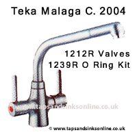 MALAGA 2004 valve o ring