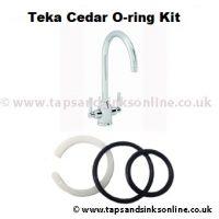 Teka Cedar Tap O Ring Kit 1260R