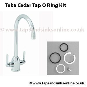 Teka Cedar tap o ring kit