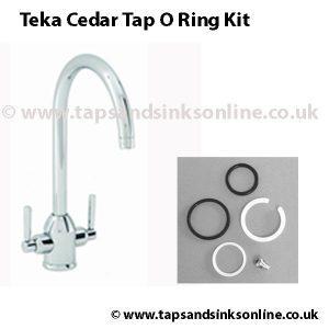 Teka Cedar tap o ring kit