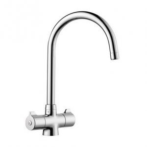 Lamona Rhone Swan Neck Tap3456 Chrome