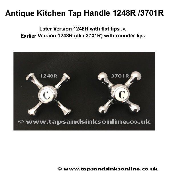 antique kitchen tap handle 1248r 3701r