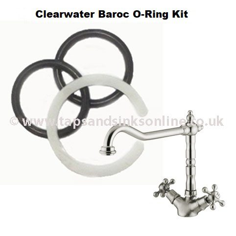 Clearwater Baroc Tap O Ring Kit 3646R