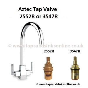 Clearwater Aztec Kitchen Tap Valve