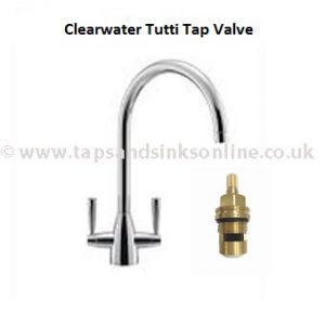 Clearwater Tutti Kitchen Tap Valve