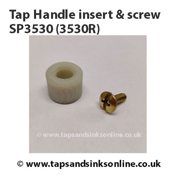 Tap Handle Insert & Screw SP3530 3530R