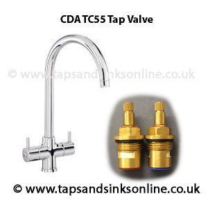 CDA TC55 Tap Valve