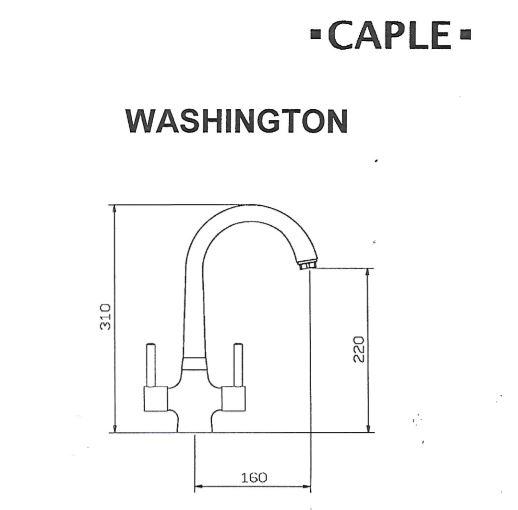 Caple Washington Tap Blue Print