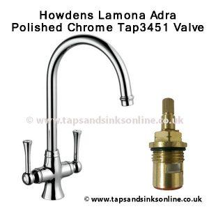 Howdens Lamona Adra Tap3451 Valve
