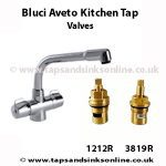 Bluci Aveto Kitchen Tap Valves