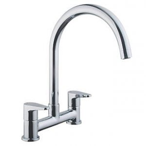 Cooke & Lewis 58A Dual Lever Bridge Tap