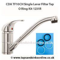 CDA TF10CH O Ring Kit 1231R