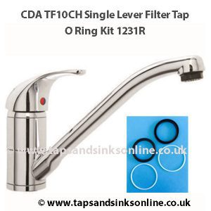 CDA TF10CH O Ring Kit 1231R