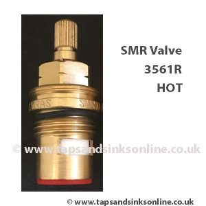 SMR 3561R red seal hot valve