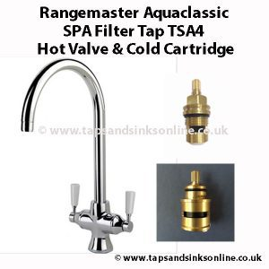 Rangemaster Aquaclassic SPA Filter Tap TSA4 Valve & Cartridge