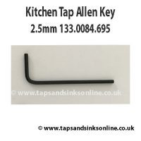 Kitchen Tap Allen Key 2.5mm 133.0084.695