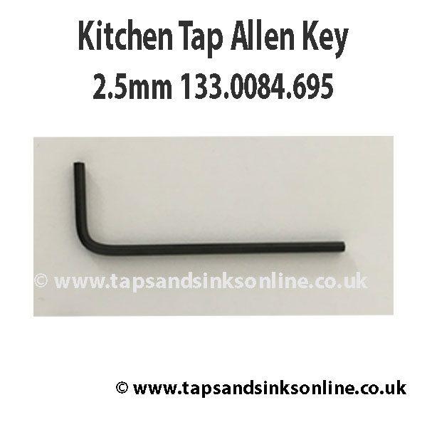 Kitchen Tap Allen Key 2.5mm 133.0084.695