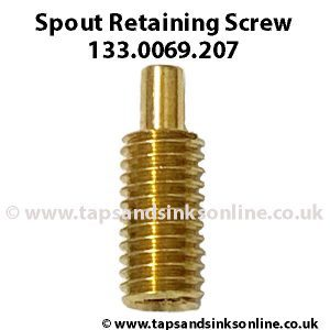Spout Retaining Screw 133.0069.207
